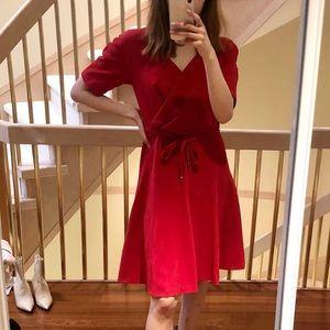 MaxMara Studio mid length belted dress